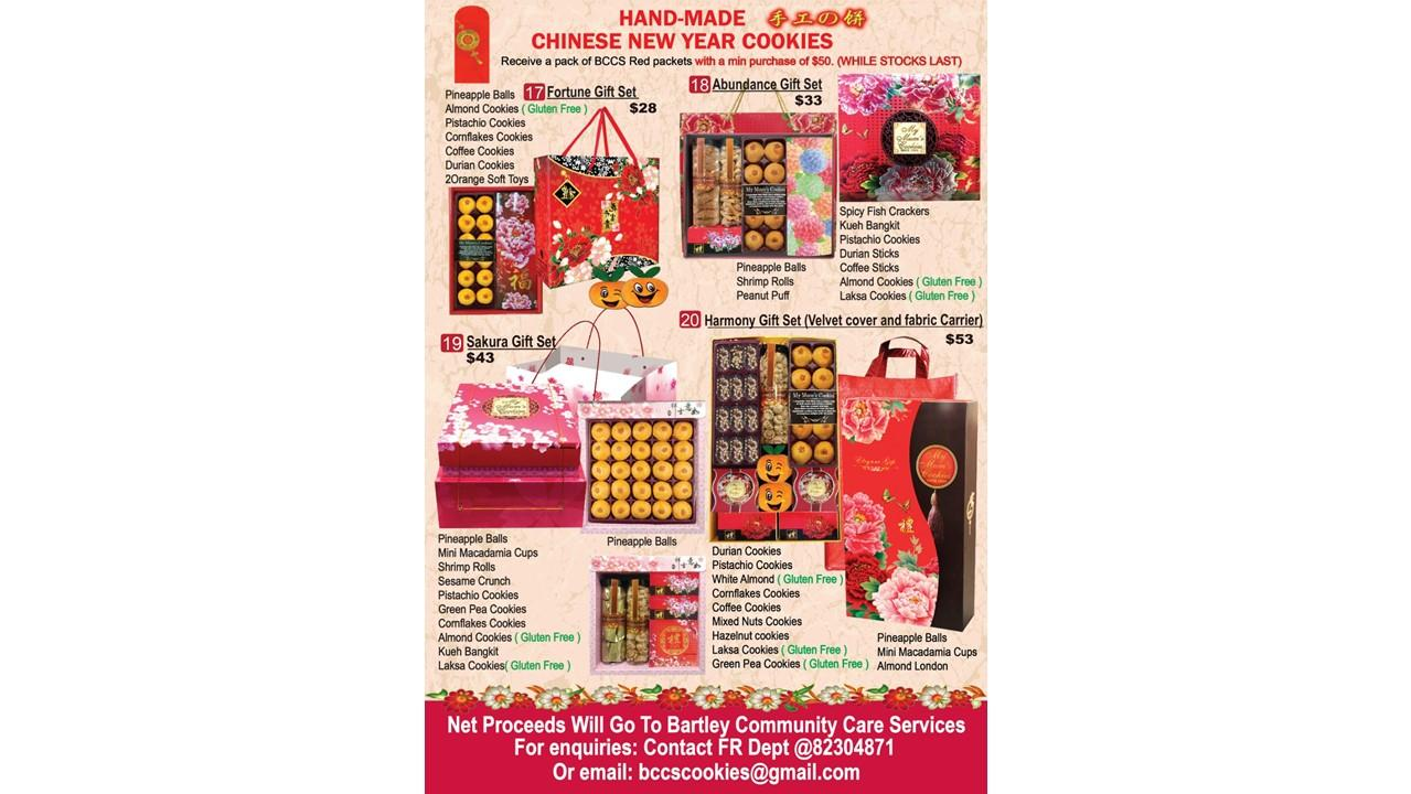 CNY COOKIE FOR THE ELDERLY - Giving sg